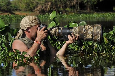Focení divoké přírody vás může zavést až do extrémních situací. Buďte na ně připravení.